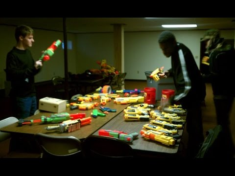 Nerf War! : What you'll need.