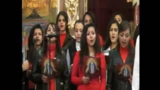 كورال الجامعيين وعظة ابونا أرميا بولس 3/12/2016