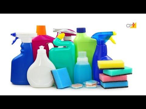 Matérias-primas Utilizadas Para a Fabricação de Produtos de Limpeza