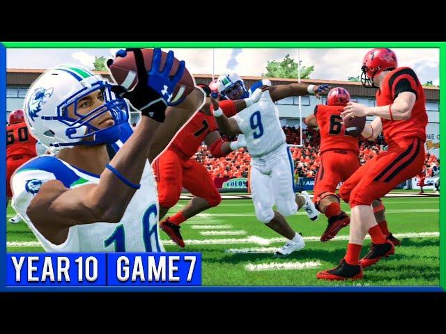 NCAA Football 14 Dynasty Year 10 - Game 7 @ Oregon St. | Ep.177