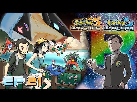Gameplay Live Pokémon Ultrasole e Ultraluna #21 - La fine di Giovanni!