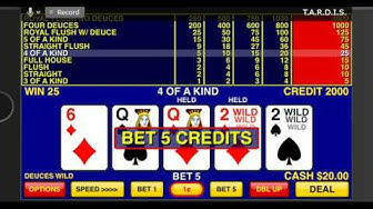 Video Poker Games App Review