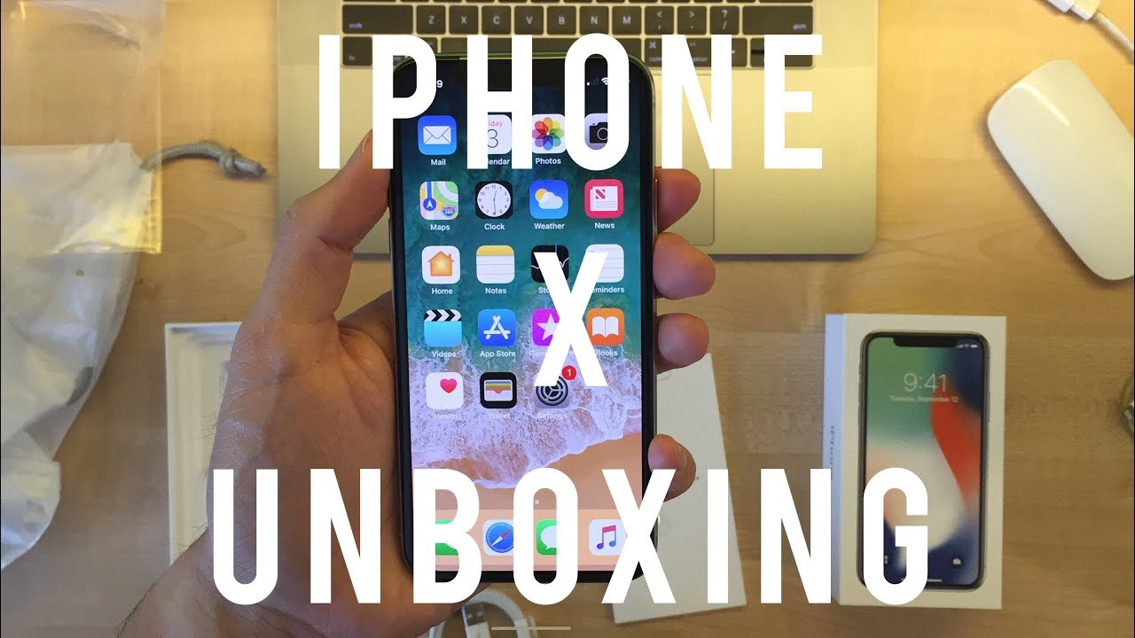 First Apple iPhone X Unboxing (iPhone X Launch Sydney Australia) // World's  First iPhone X