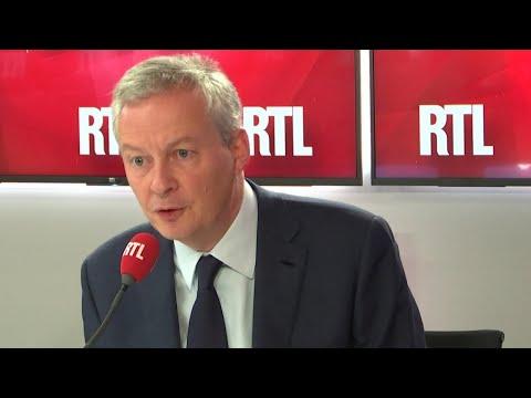 Bruno Le Maire, invité de RTL du 24 octobre 2018
