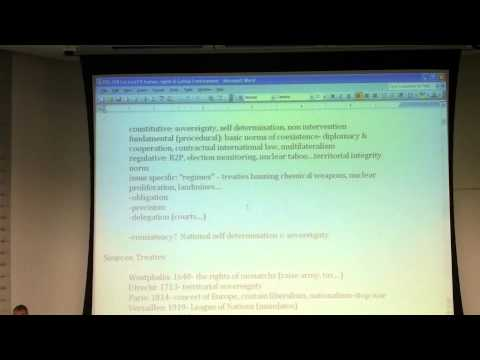 POL208Y1 lecture #19: Human Rights & Global Environment (part 1)