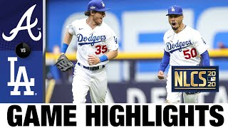 Seager, Buehler help Dodgers push NLCS to a Game 7   Braves-Dodgers Game 6 Highlights 10/17/20