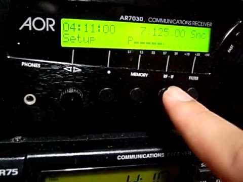 Radio calls the time to break their fast : 7125kHz R. Conakry, Guinea