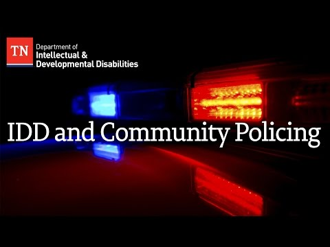 IDD and Community Policing Presentation