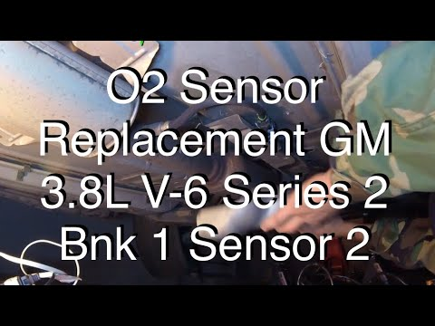 Chevy Engine Diagram Oxygen Sensor Replacement Gm 3 8l V 6 Series 2 Bank 1