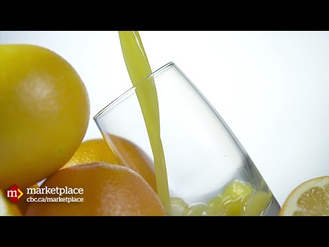 How 'premium' orange juice is really made (CBC Marketplace)