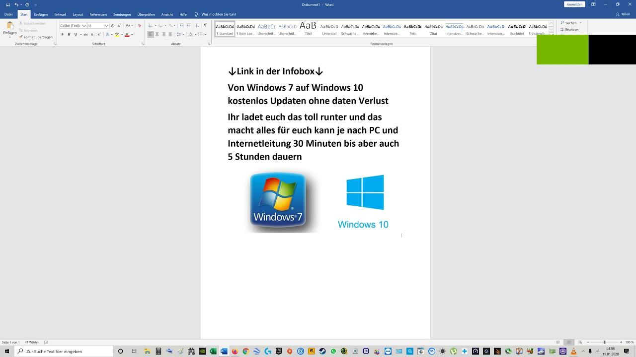 Win7 Auf Win10 Updaten Kostenlos