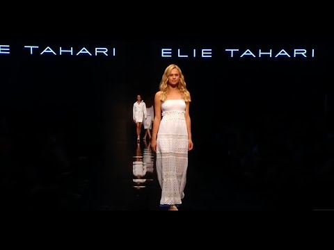 Elie Tahari Spring 2016 at Beauty City in Tel Aviv