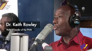 pnm s political leader dr keith rowley live on the breakfast party with jaiga nikki ro dey