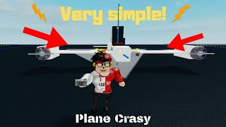 Plane Crazy [Alpha] - Tutorial of 2 basic airplanes - Roblox