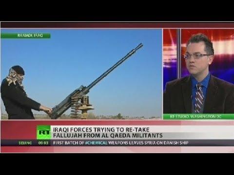 Iraqi troops fight to regain control of key Anbar cities