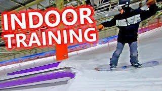 Epic Indoor Snowboard Training at Landgraaf Snowworld