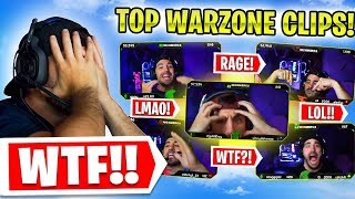 Reacting To My MOST VIEWED Warzone Clips!