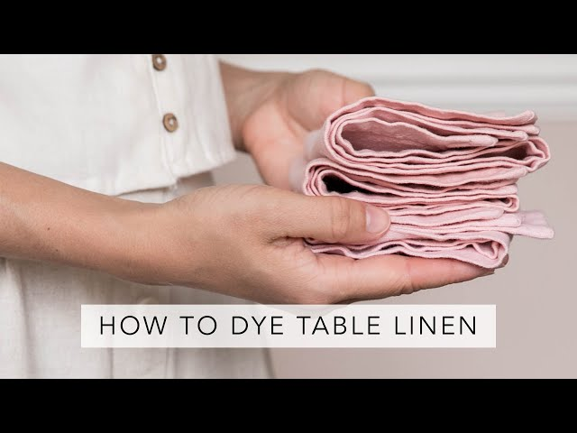 Upcycling Old Table Linen | Sofia Clara | AD