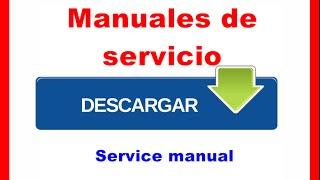 Descargar manuales de servicio gratis