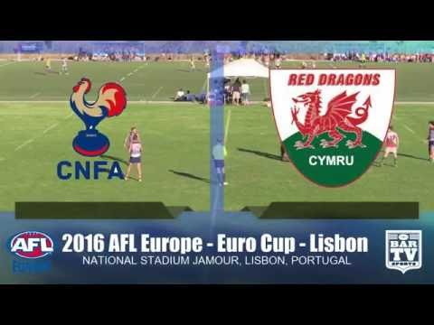 2016 AFL Europe - Euro Cup Men's Plate Final - Wales v France
