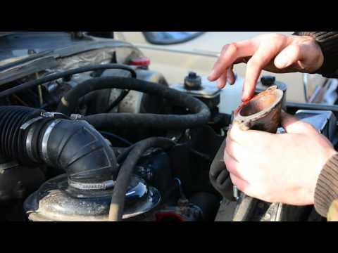 Замена термостата на автомашине УАЗ (ЗМЗ 402, ЗМЗ 410)