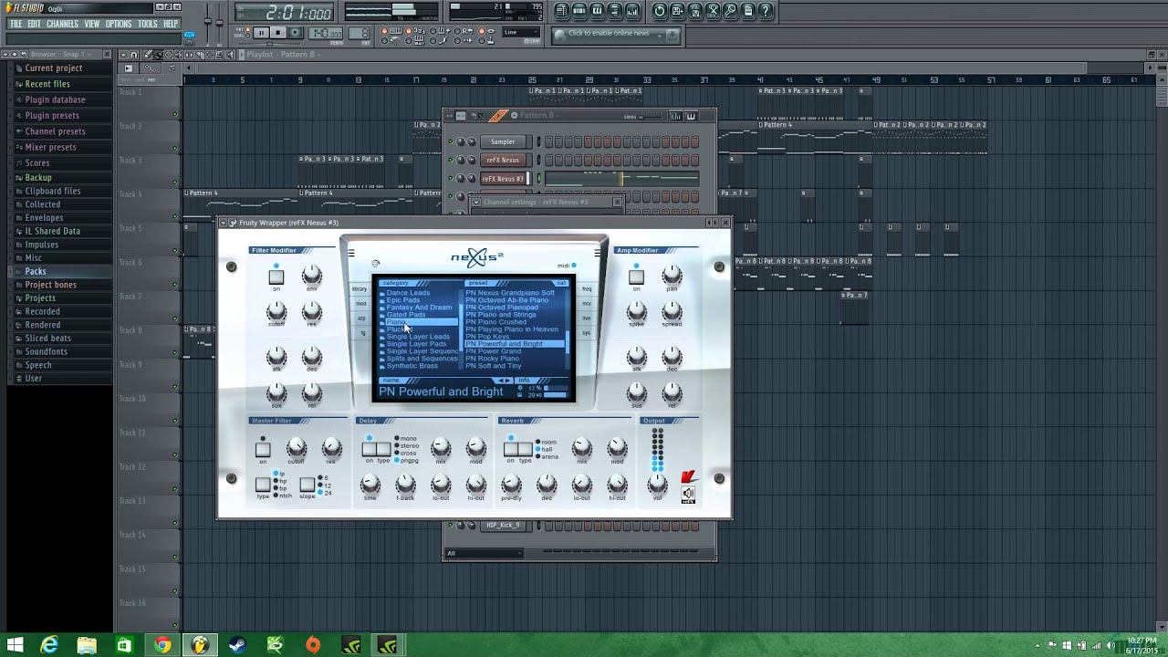 Fl Studio 11 Beat Fire Youtube