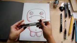 How to draw a ZUKIE
