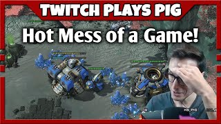 Thor Drop TvP = Hot Mess of a Game | Twitch Plays PiG #50