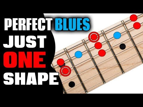 The PERFECT Blues Scale (Blending Notes Included)