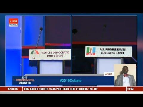 Debate: Ezekwesili, Durotoye, Moghalu Blast Atiku And Buhari For Absence