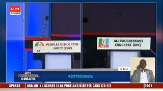 Debate: Ezekwesili, Durotoye, Moghalu Blast Atiku And Buhari For Absence