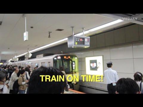 Train On Time Gila Kat Jepun! (Osaka)