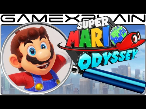 Super Mario Odyssey ANALYSIS - Reveal Trailer (Secrets & Easter Eggs)