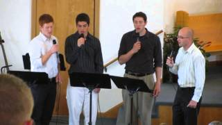 Fairview Mennonite Church quartet (Be Thou My Vision) 05-19-13