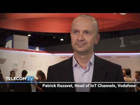 Vodafone's strategy for IoT in key vertical markets