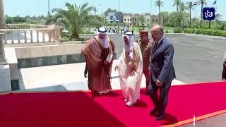 أمير الكويت يبحث ببغداد تخفيف التصعيد الأمريكي الايراني (19-6-2019)