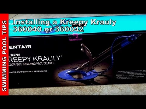 Installing the NEW Kreepy Krauly Automatic Pool Cleaner by Pentair (360040  or 360042)4