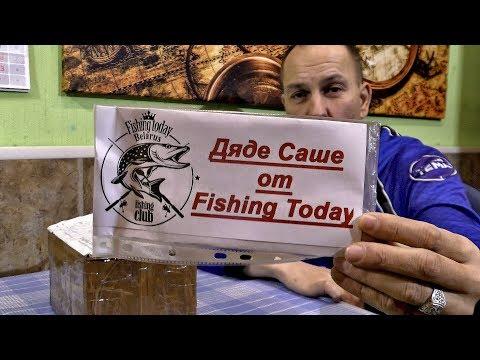 Видео БЛАГОДАРНОСТЬ каналу FISHING TODAY. Клёвый СИЛИКОН