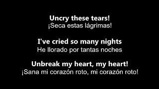 ♥ Unbreak My Heart ♥ Sana Mi Corazón Roto - by Toni Braxton ~ subtitulada en inglés y español