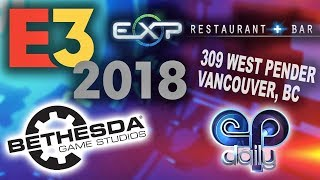 Bethesda Press Conference - E3 2018 LIVE from Vancouver