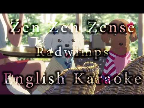 Zen Zen Zense English Karaoke