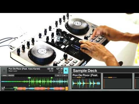 DJ DUMMY | Traktor Kontrol | Live In Store Performance |