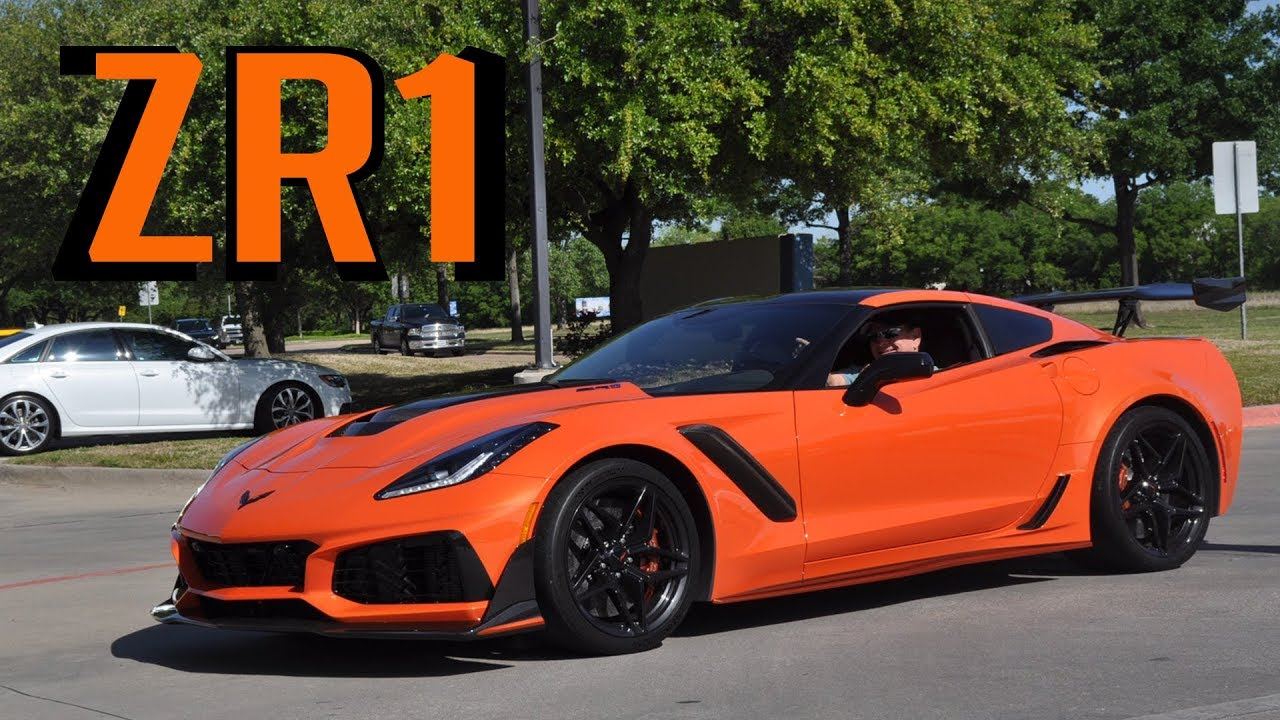 THE FIRST 2019 Corvette ZR1 CRASHES FERRARI AND LAMBORGHINI MEET!!