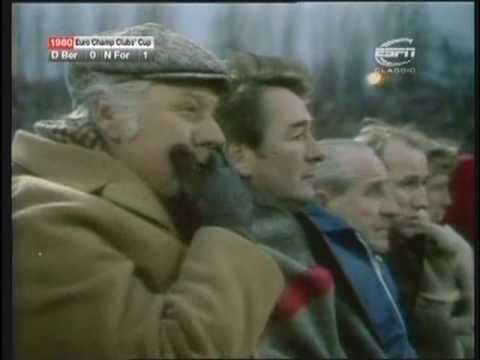 Dynamo Berlin - Nottingham Forest (European Cup 1980, Quarter-finals, 2nd Leg) Highlights