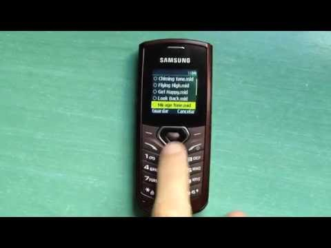 Samsung GT-E1170 review (ringtones, themes & games)