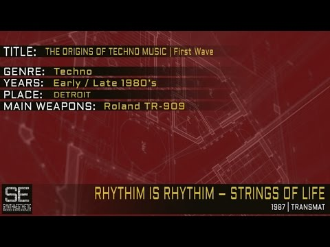 Rhythim Is Rhythim  Strings Of Life Transmat  1987