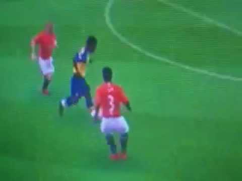Fifa 09 Argentina Goal   (bad graphics)