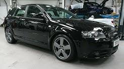 Audi A3 alloy wheel restoration. Paint codes L8AU vs LY7P.