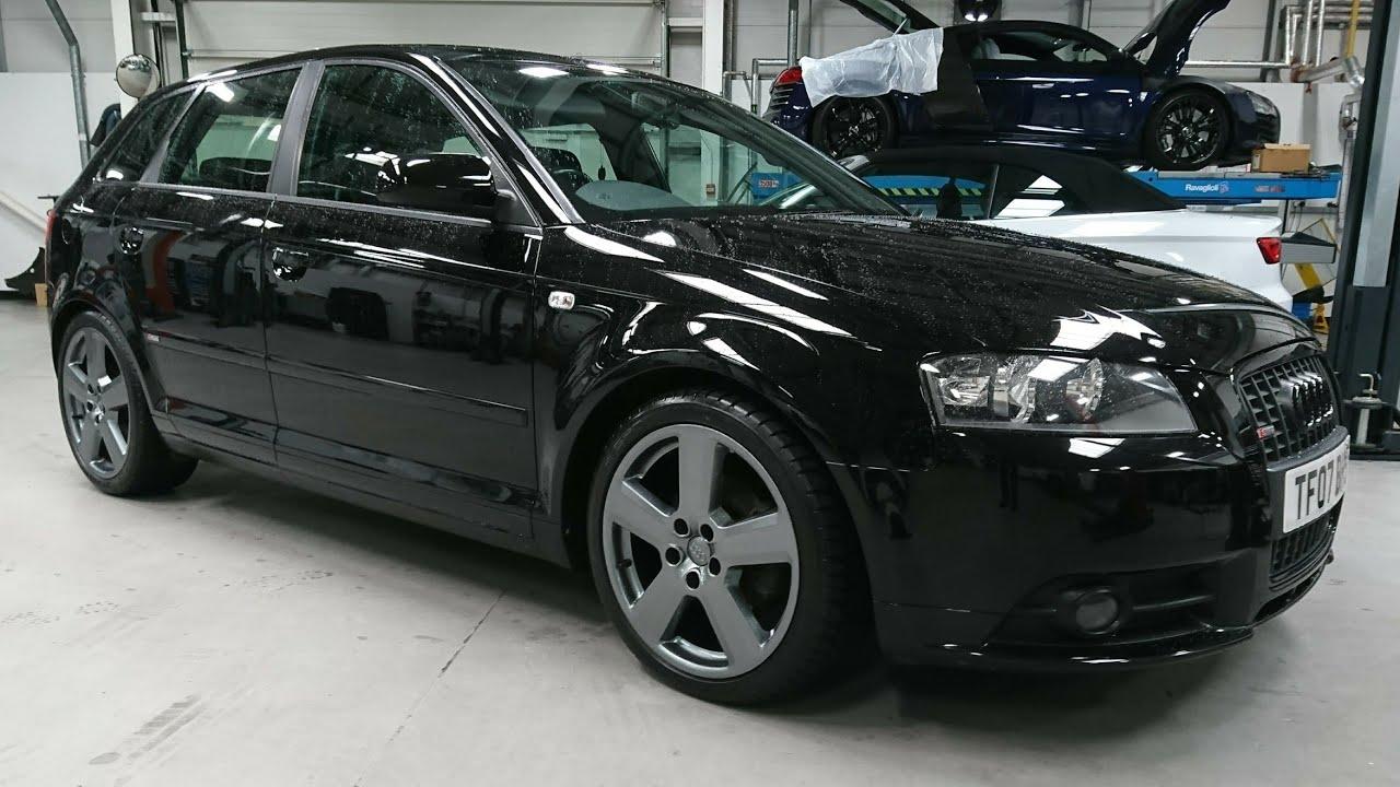 Audi A3 alloy wheel restoration. Paint codes L8AU vs LY7P. - YouTube