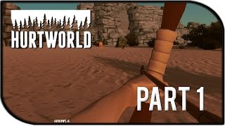 Hurtworld Gameplay Part 1 - First Impressions + HUGE GIVEAWAY! (Early Alpha Gameplay)